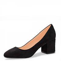 Туфли на небольшом каблуке. Черные., фото 1