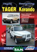 ТагАЗ Тагер / СангЙонг Корандо. Модели 2WD&4WD с бензиновыми М161 (2,3 л), М162 (3,2 л) и дизельными ОМ661 (2,3 л), ОМ662 (2,9 л) двигателями.