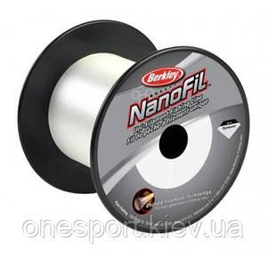 Шнур Berkley NANOFIL Clear 1800M 0.08 прозрачный (код 163-9027)
