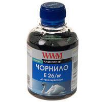 Чернила WWM EPSON XP-600/XP-605/XP-7005 (Black Pigment) (E26/BP)