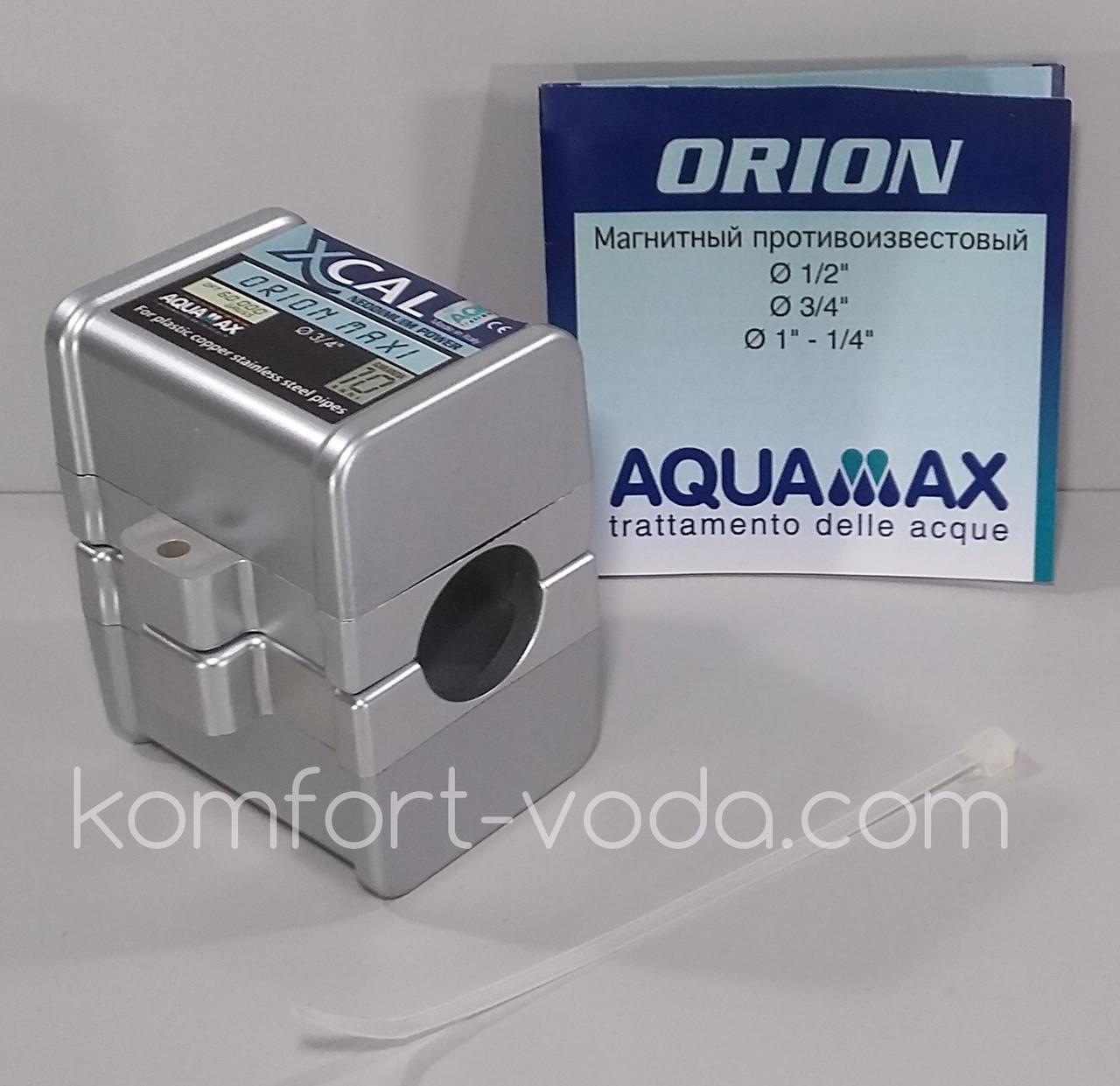 """Магнитный преобразователь воды XCAL ORION 3/4"""", 60.000 Gauss"""