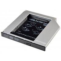 Фрейм-переходник Grand-X HDD 2.5'' to notebook ODD SATA/mSATA HDC-25 (HDC-25)
