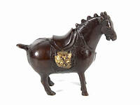 Статуэтка лошадь из бронзы