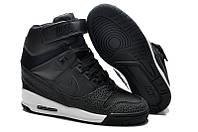 Женские кроссовки Nike Dunk Sky Hi black, фото 1