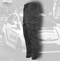 Штаны брюки Черные новой патрульной Полиции