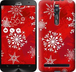 """Чехол на Asus Zenfone 2 ZE551ML Снежинка 2 """"3312c-122-328"""""""