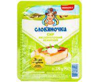 Творог кисломолочный Слов'яночка нежирный 0%, 270 г
