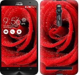 """Чехол на Asus Zenfone 2 ZE551ML Красная роза """"529c-122-328"""""""