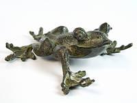Статуэтка лягушка из бронзы