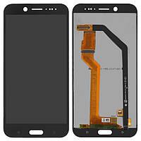 Дисплей HTC 10 Evo черный (LCD экран, тачскрин, стекло в сборе)