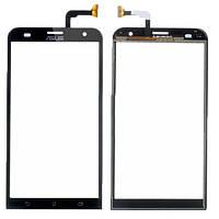 Сенсорный экран Asus ZenFone 2 Laser ZE551KL черный (тачскрин, стекло в сборе)