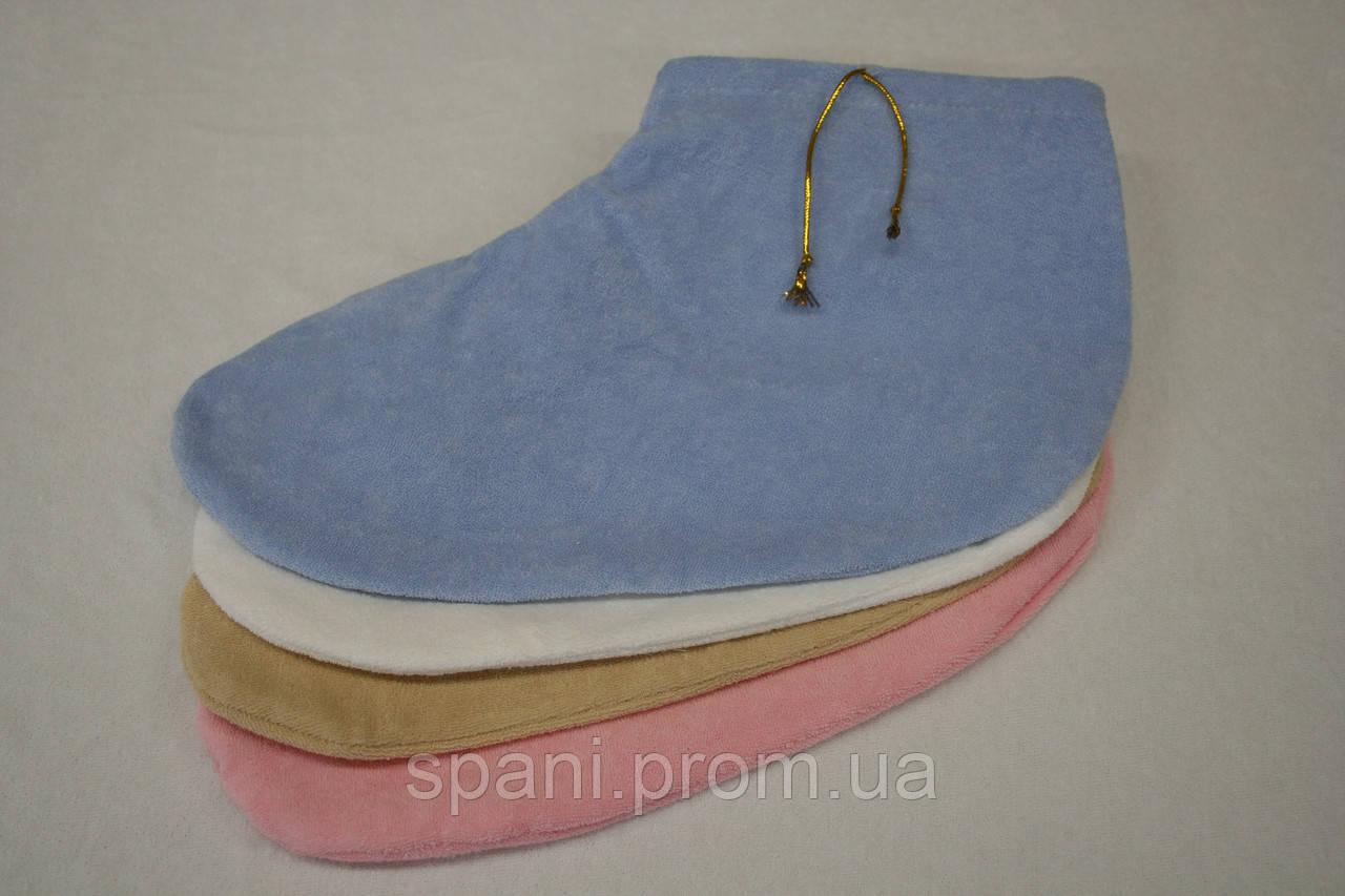 Носочки махровые для парафинотерапии