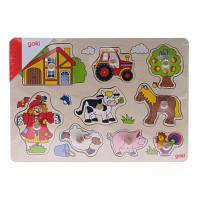 Развивающая игрушка Goki Ферма (57995)