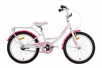 """Велосипед 20"""" PRIDE SANDY 2014 бело-розовый"""