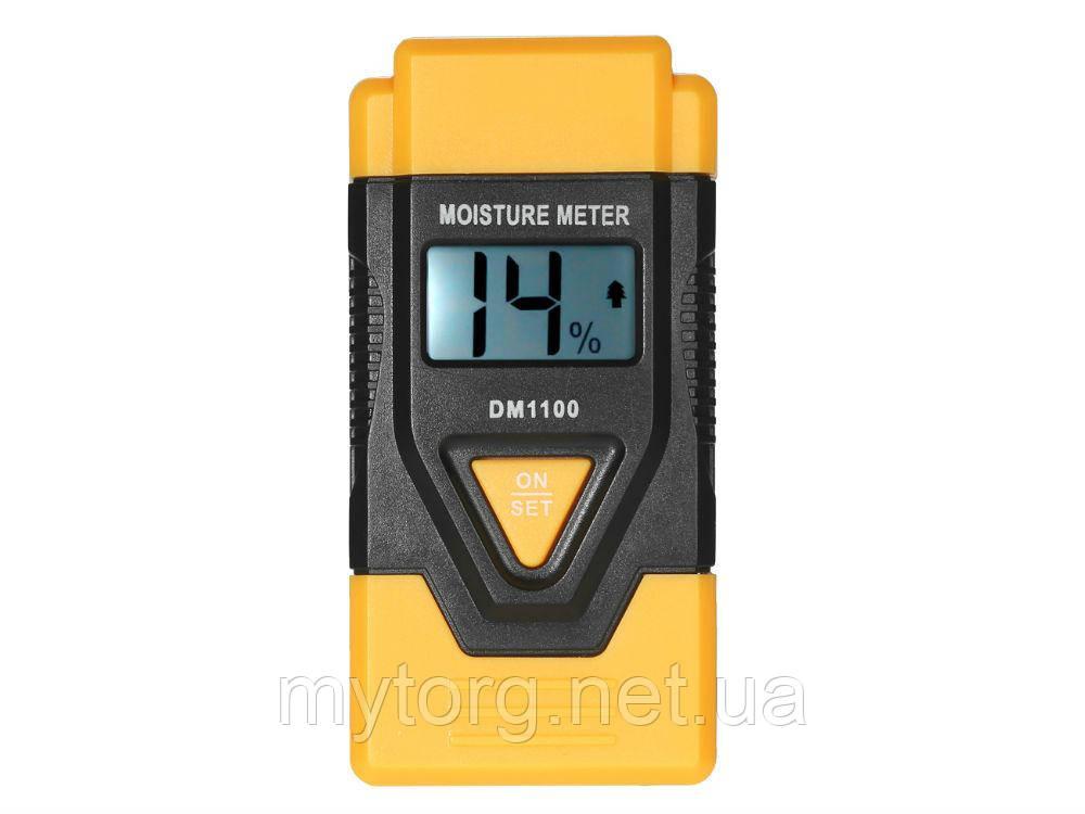 Влагомер для древесины и строительных материалов DM 1100