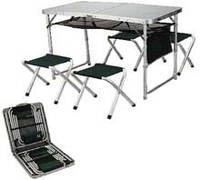 Стол и стулья раскладные Ranger ТA 21407+FS 21124