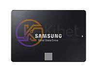 Твердотельный накопитель 250Gb, Samsung 860 Evo, SATA3, 2.5', TLC, 550/520 MB/s (MZ-76E250B/EU)