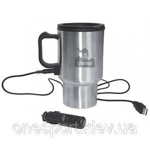 Термокружка Tramp Cup TRC-064 0,45 л автомобильная с подогревом 12В USB входом (код 159-21680)
