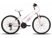 "Велосипед 24"" PRIDE LANNY 2014 бело-розовый"