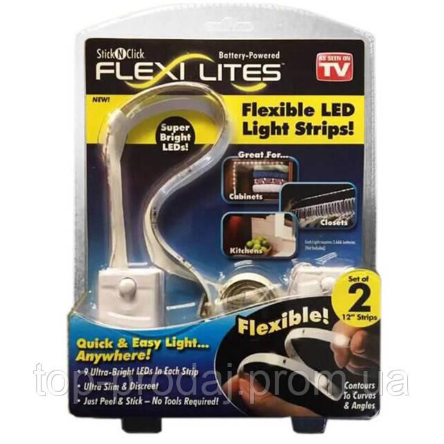 Подсветка в Шкаф Flexi Lites Stick, Led подсветка лента в шкаф, Led подсветка для дома