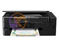 МФУ струйное цветное Epson L3070 (C11CF47405), Black, WiFi, 5760х1440 dpi, до 33/15 стр/мин, ЖК-экран 3,7 см, CardReader, USB, встроенное СНПЧ
