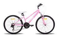 """Велосипед 24"""" PRIDE LANNY 2014 розово-белый"""