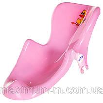 Горка Twins Balbinka TG-015 антискользящая  розовая
