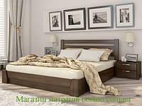 Деревянная кровать с подъемным механизмом Селена