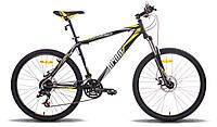 """Велосипед 26"""" PRIDE XC-250 рама - 17"""" 2014 черно-желтый матовый"""