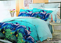 Полуторное постельное белье полиСАТИН 3D (поликоттон) 857985