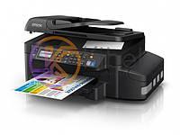 МФУ струйное цветное Epson L566 (C11CE53403), Black, WiFi, 5760х1440 dpi, факс, до 33/15 стр/мин, USB / Lan, 2-x строчный ЖК-экран, встроенное СНПЧ по