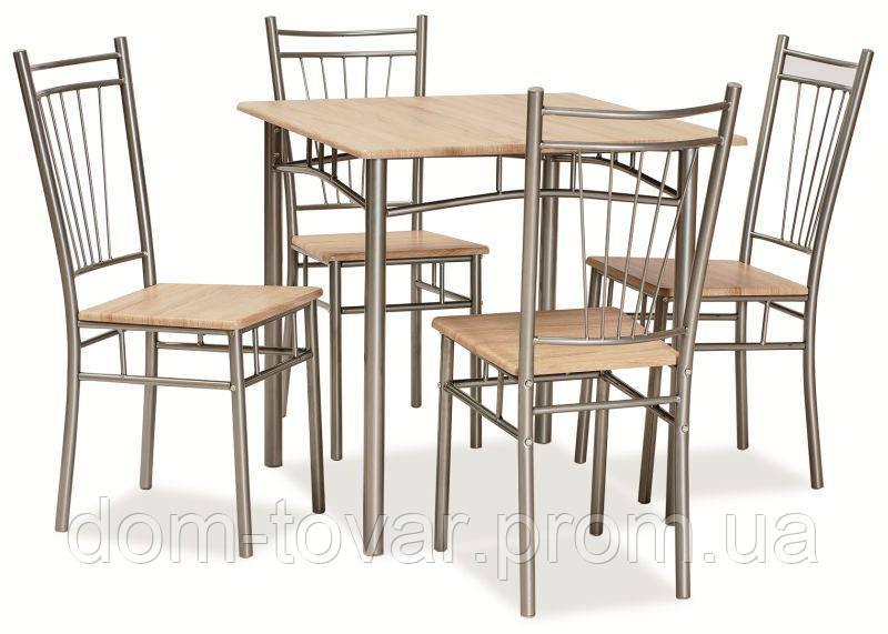 FIT стол SIGNAL комплект 1+4