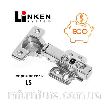 Петля Linken System. Накладная с доводчиком (серия LS)