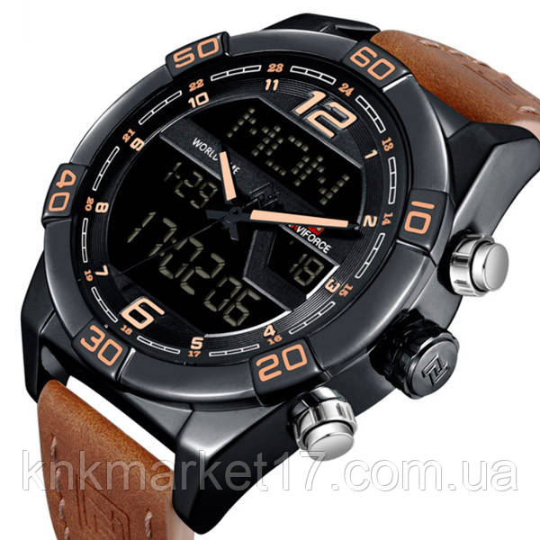 Naviforce Чоловічі годинники Naviforce Legion Brown