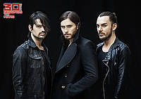 Плакат 30 Seconds To Mars 11