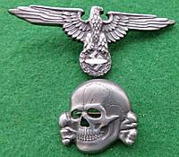 Кокарды на головной убор войск СС Германия III рейх