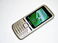 """Телефон Nokia L600 Золотой - 2 sim - 2,2"""" - Fm - Bt - Camera - металлический корпус, фото 1"""
