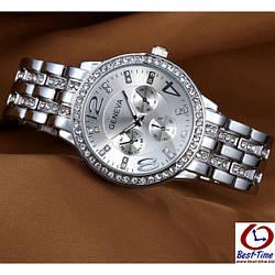 Женские часы Geneva Silver