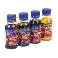 Комплект чернил WWM Canon Carmen Black, Cyan, Magenta, Yellow, 100 мл (CARMEN.SET-2)