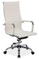 Q-040 офисный стул из эко-кожи SIGNAL