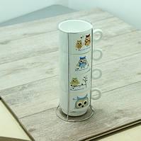 Чайный набор Olens Совы 16328-2