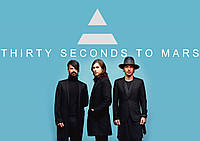 Плакат 30 Seconds To Mars 13