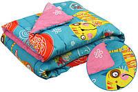 Одеяло теплое 140х205 Руно Yellow cat