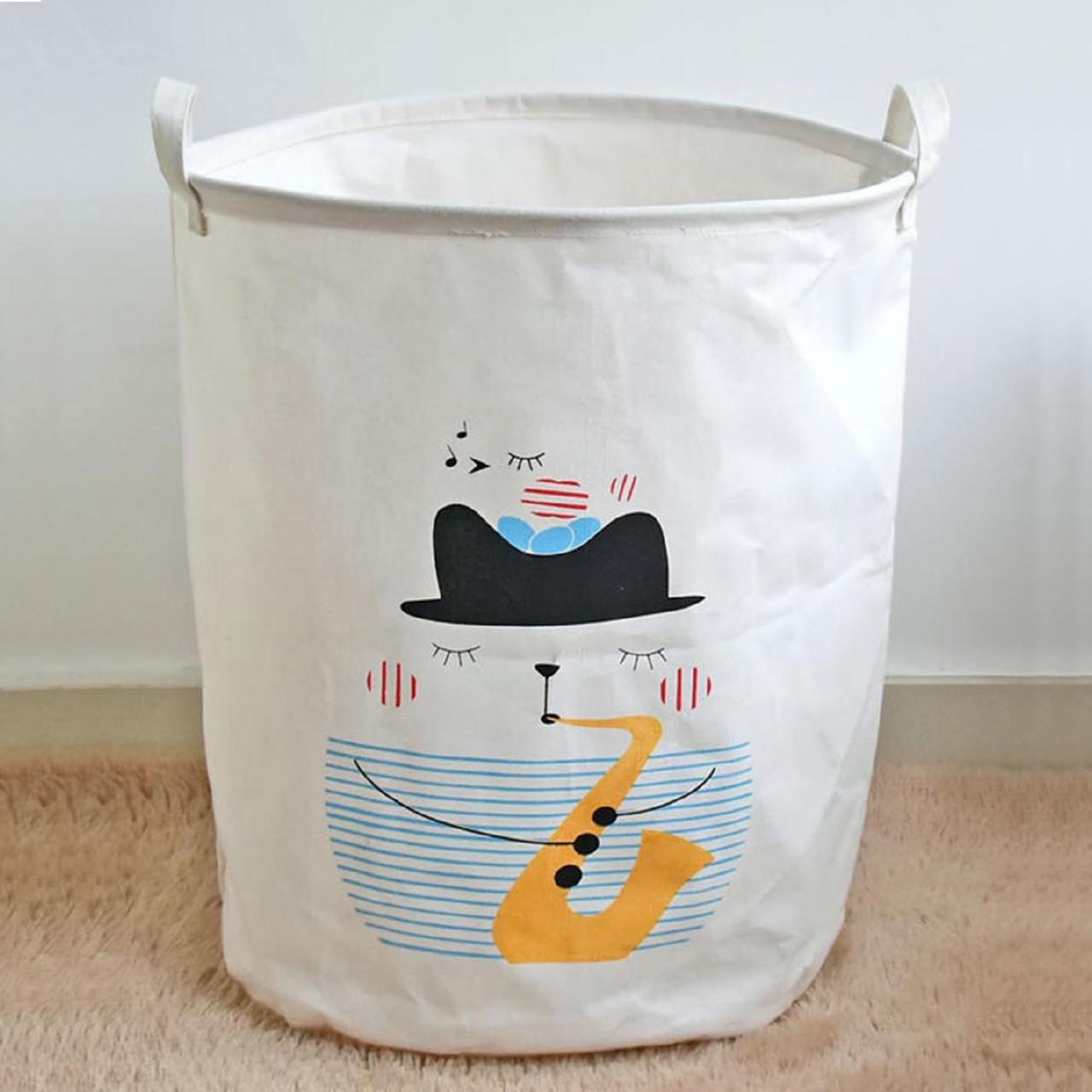 Корзина для игрушек, белья, хранения Кошачий блюз Berni Home