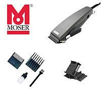 Машинка для стрижки Moser 1230-0053 Primat Серебристая + Насадка HG Polishen