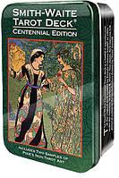 Smith-Waite Centennial Edition Tarot / Таро Уэйта-Смит Юбилейное Издание (в металлической коробке)