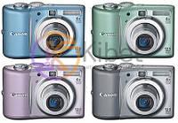 Фотоаппарат Canon PowerShot A1100 IS Pink, 12,1 Mp, LCD 2,5', Zoom 4x, оптический стабилизатор, SD, SDHC, MMCPlus, HC MMCPlus, 2 x AA, 12 мес
