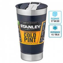 Термокружка Stanley Classic (0.47 л), синя