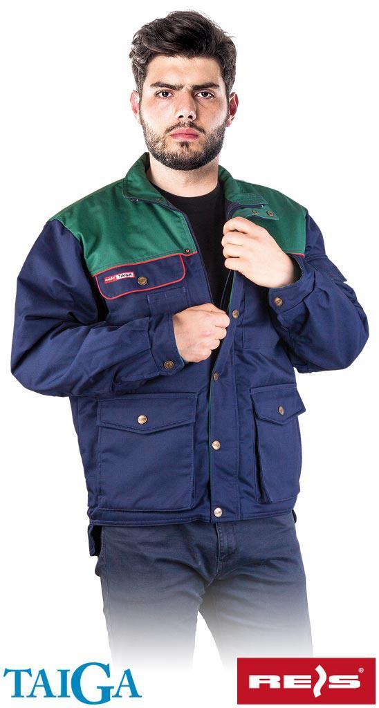 Куртка зимова робоча Reis Польща (утеплений спецодяг) BTOGZ GZ