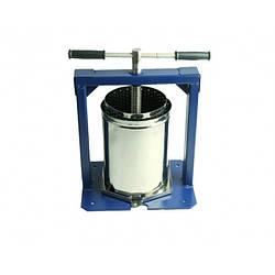 Пресс для отжима сока Вилен 10 л нержавейка ручной